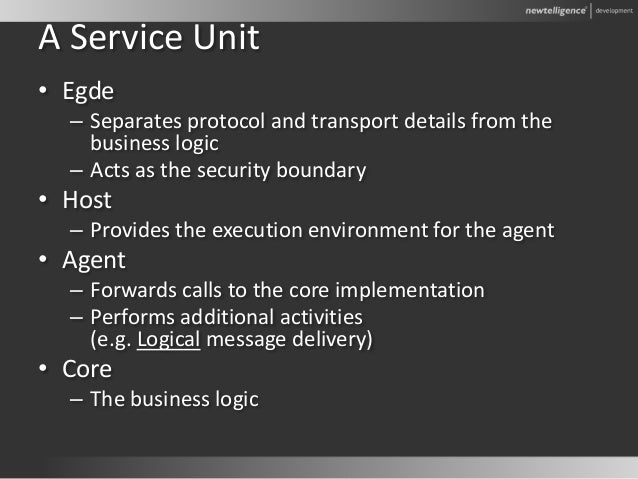 2006 - DDD4: Decoupling service oriented backend systems
