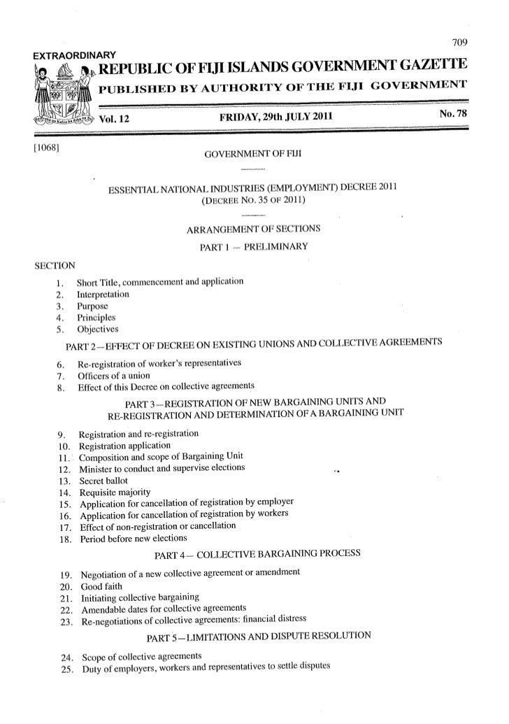 Decree no 35 2011