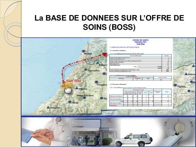 La BASE DE DONNEES SUR L'OFFRE DE SOINS (BOSS)