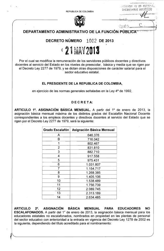 """."";li"".•"",,,,,,,.,,,,,,,,~~~,=~l!!~.REPUBLlCA DE COLOMBIA<l;í~DEPARTAMENTO ADMINISTRATIVO DE LA FUNCiÓN Pt1BtICJ~:v,,""~"":..."
