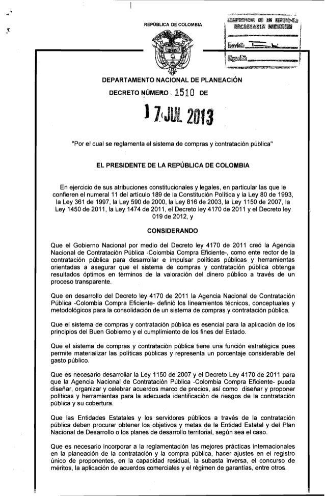 DEPARTAMENTO NACIONAL DE PLANEACIÓN ,~~~~f~!!'ii !llll ~Ii ~m~;Ml . REPÚBLICA DE COLOMBIA I~¡¡~¡¡ .11IIm I ~ lU,,'&-'~.~~ ...