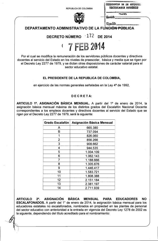 Decreto 172 Del 07 De Febrero De 2014 2277