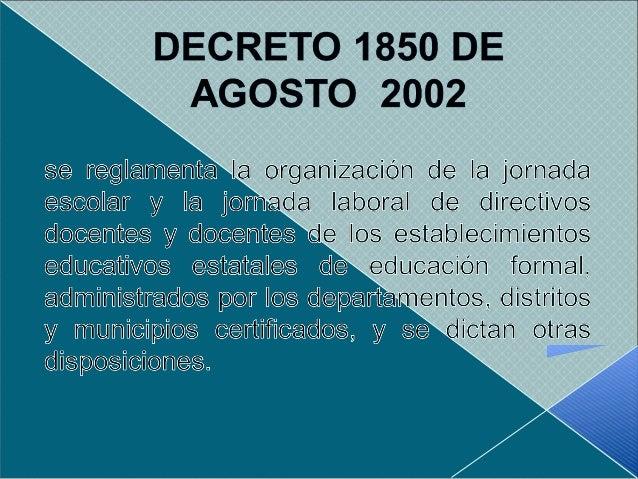 JORNADA ESCOLAR JORNADA LABORAL  Es el tiempo diario que dedica el establecimiento educativo a sus estudiantes El horari...