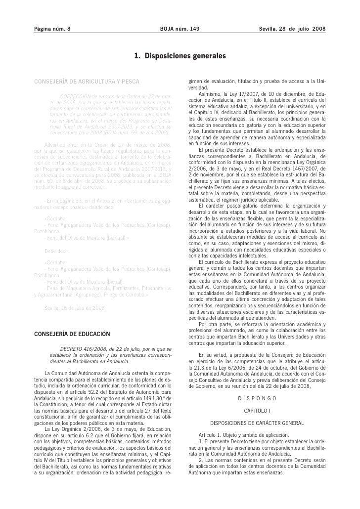 Página núm. 8                                                 BOJA núm. 149                            Sevilla, 28 de juli...