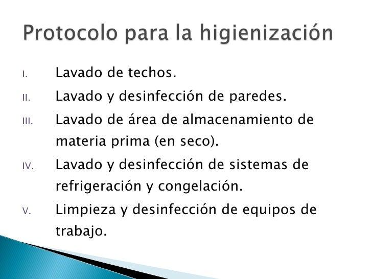 Decreto 3075 for Metodos de limpieza y desinfeccion en el area de cocina