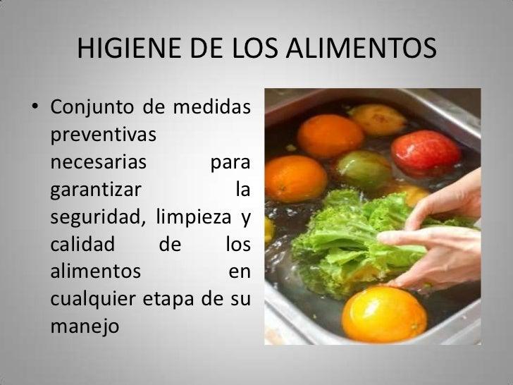 Decreto 3075 de 1997 diapositivas for Limpieza y desinfeccion de alimentos