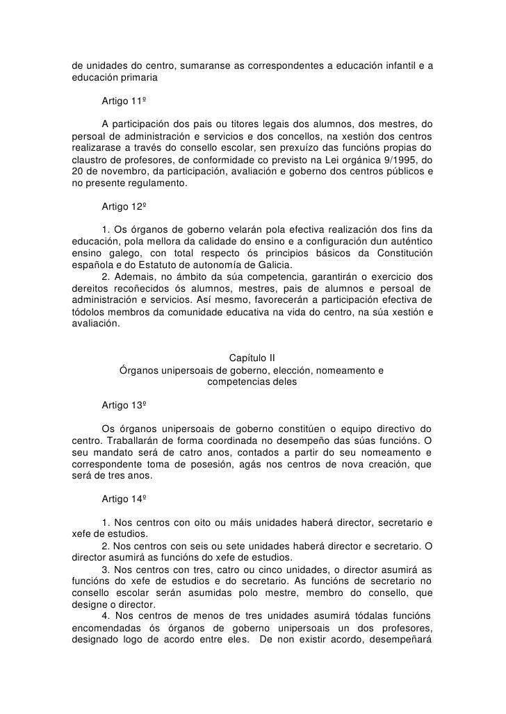 de unidades do centro, sumaranse as correspondentes a educación infantil e a educación primaria        Artigo 11º         ...
