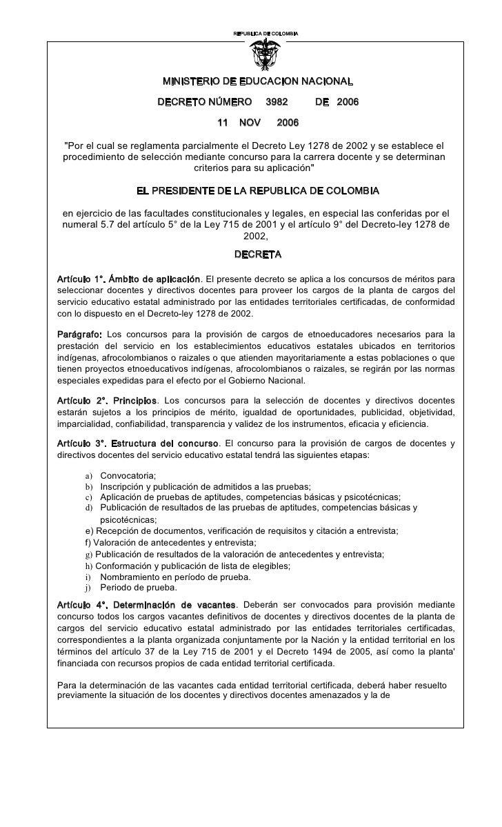 REPUBLICADECOLOMBIA                                                            I                             MINISTERIO...
