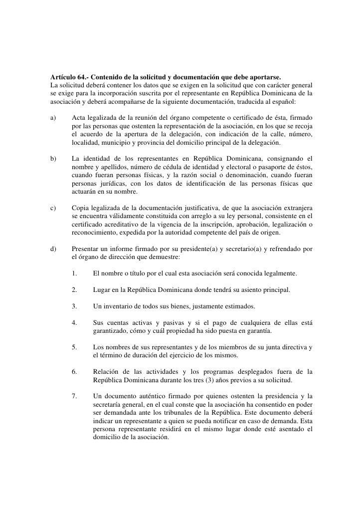 Ley 122 05 republica dominicana