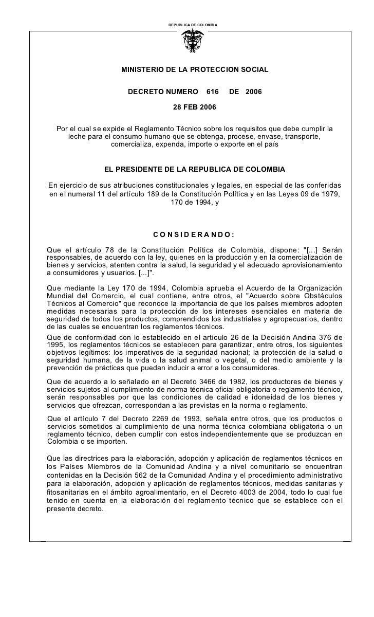 REPUBLICA DE COLOMBIA                                               I                       MINISTERIO DE LA PROTECCION SO...