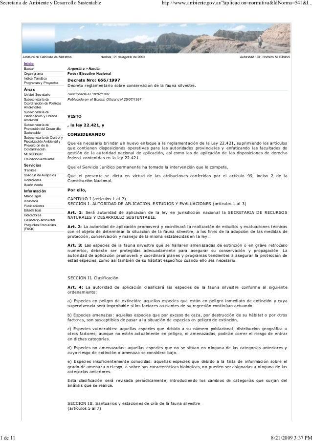 Secretaria de Ambiente y Desarrollo Sustentable                                             http://www.ambiente.gov.ar/?ap...