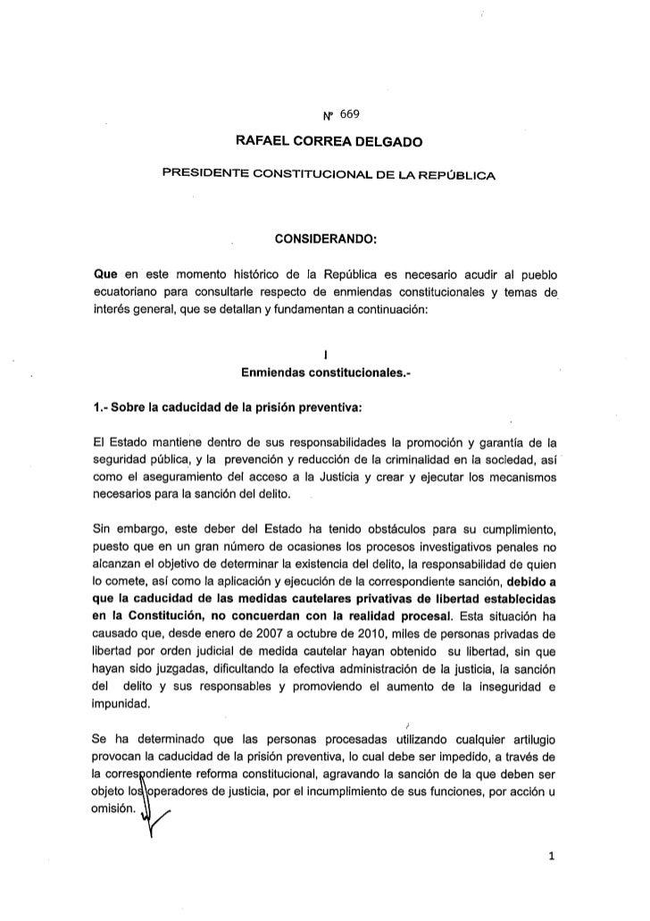 Decreto669 Consulta Popular 2011