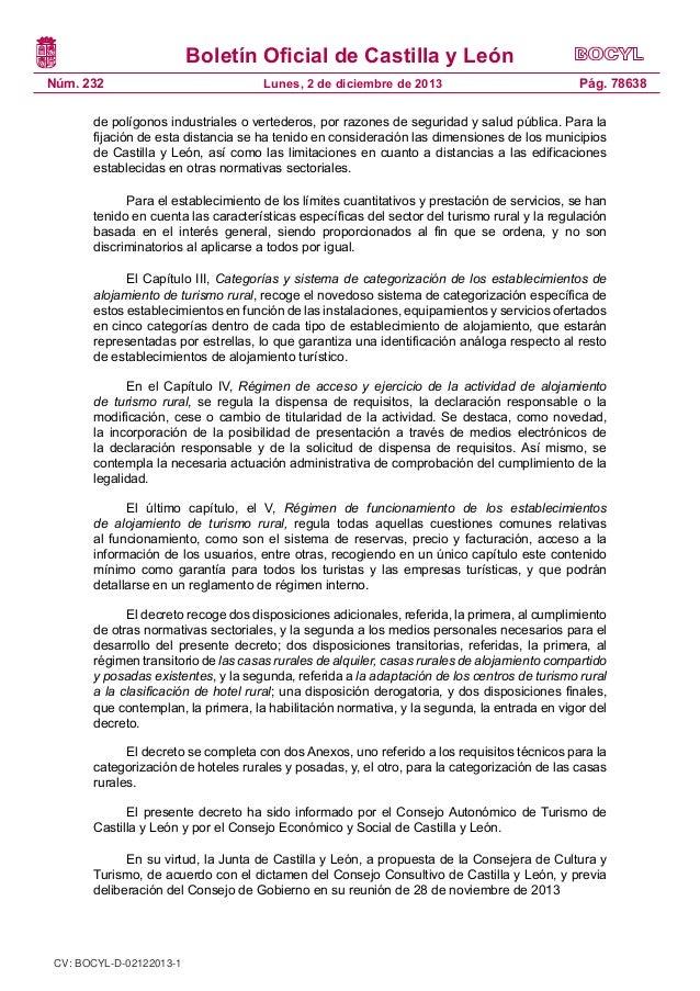 Decreto 752013 regulacion de establecimientos de for Rural net cool ca