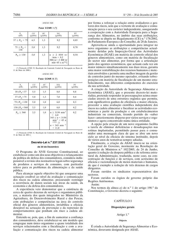 7486                                    DIÁRIO DA REPÚBLICA — I SÉRIE-A                                         N.o 250 — ...