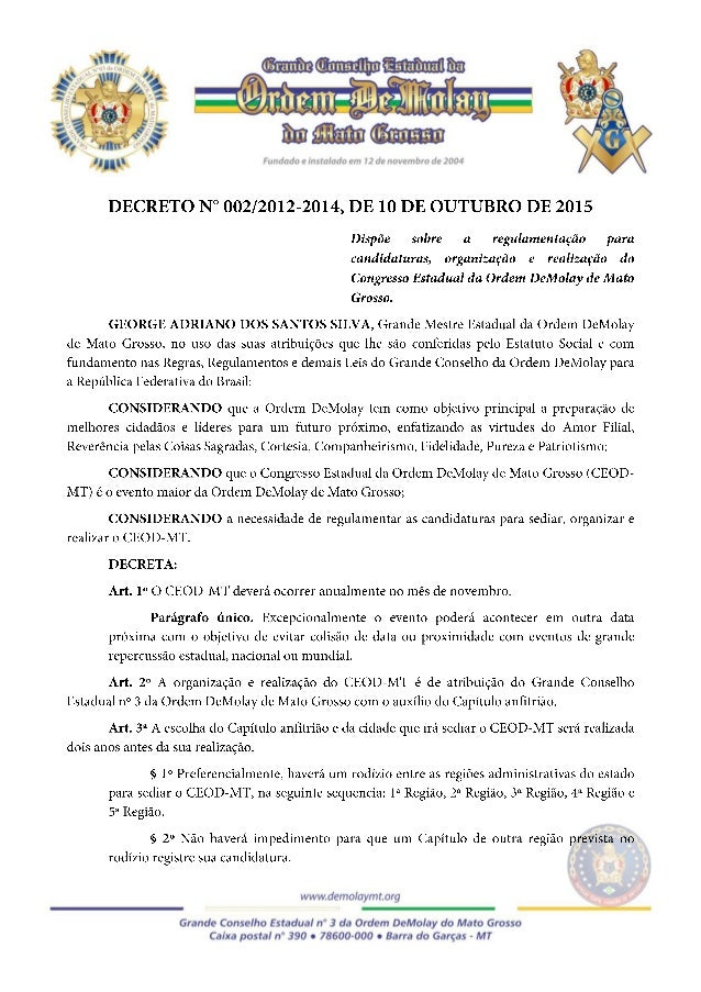 George Adriano dos Santos Silva Carlos Magno Nery de Oliveira GRANDE MESTRE ESTADUAL GRANDE SECRETÁRIO ESTADUAL
