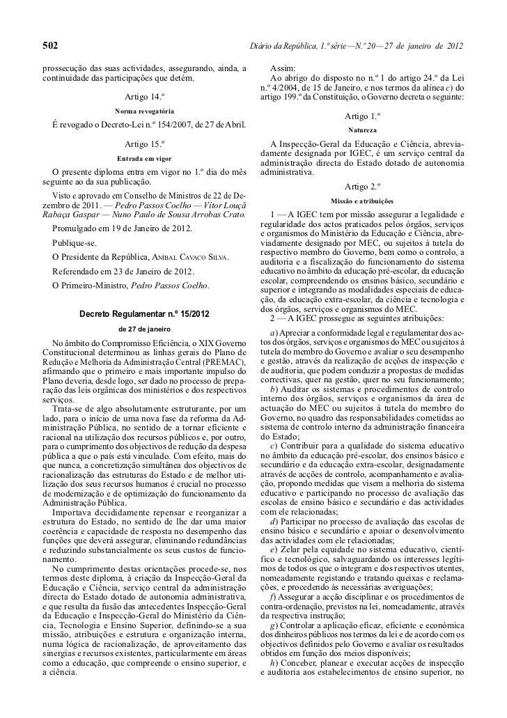502                                                          Diário da República, 1.ª série — N.º 20 — 27 de janeiro de 20...