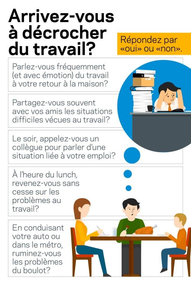 Infographie : Arrivez-vous à décrocher du travail?