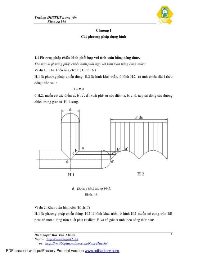 Trường ĐHSPKT hưng yên Khoa cơ khí Biên soạn: Bùi Văn Khoản Nguồn: http://welding-hk5.tk/ or: http://vn.360plus.yahoo.com/...