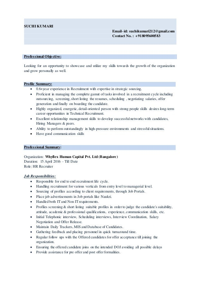 utilize on resume