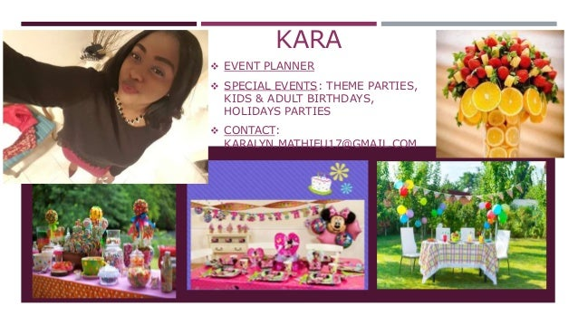 event planning flyer 2