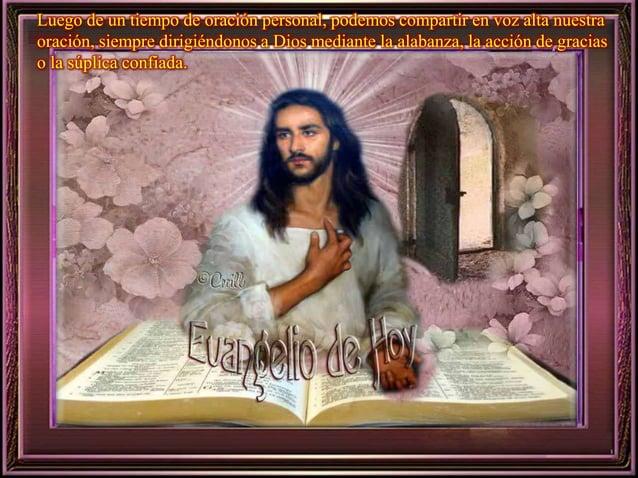 Para que demos consuelo y esperanza  a los que sufren.  Ayúdanos, Señor.  Concédenos, Señor, los dones de tu  Espíritu, pa...