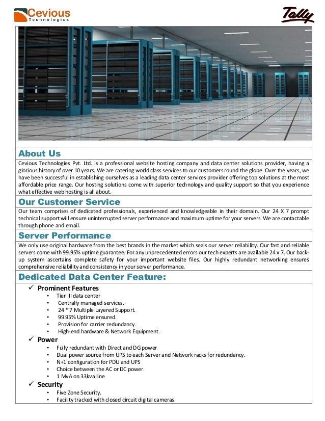Dedicated VPS Servers Price