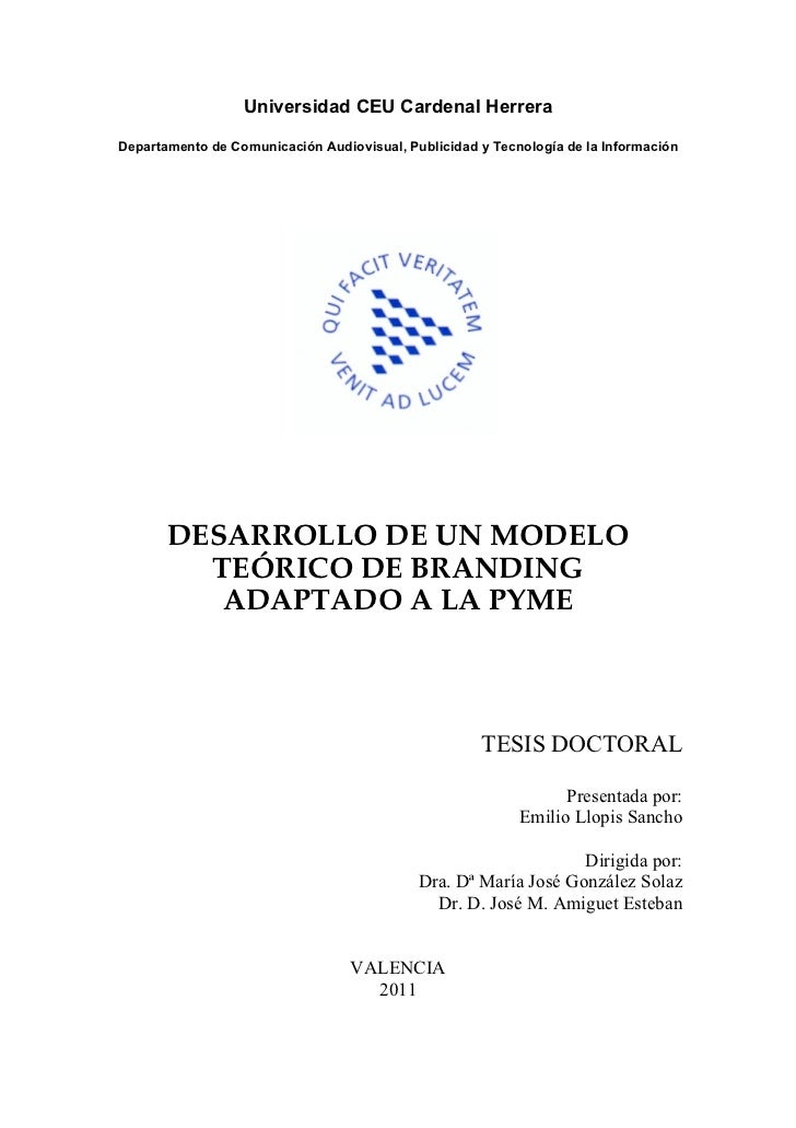 Universidad CEU Cardenal HerreraDepartamento de Comunicación Audiovisual, Publicidad y Tecnología de la Información       ...