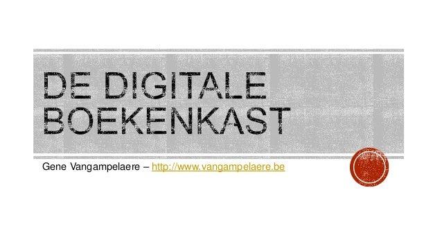 Gene Vangampelaere – http://www.vangampelaere.be