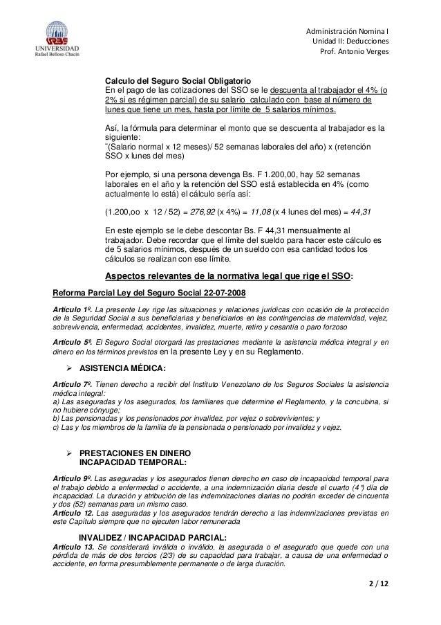 Deducciones de n mina lott for Ejemplo nomina trabajador