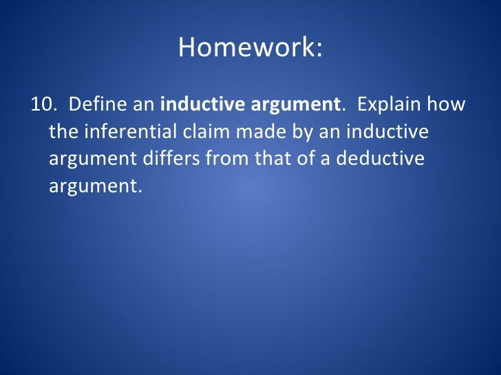 present an example of an unsound valid deductive argument and a sound valid deductive argument from  Firstly, a sound argument is a deductive argument it's trying to establish conclusive support for its conclusion secondly, the argument is valid: the premises, if true, would guarantee that the conclusion is also true.