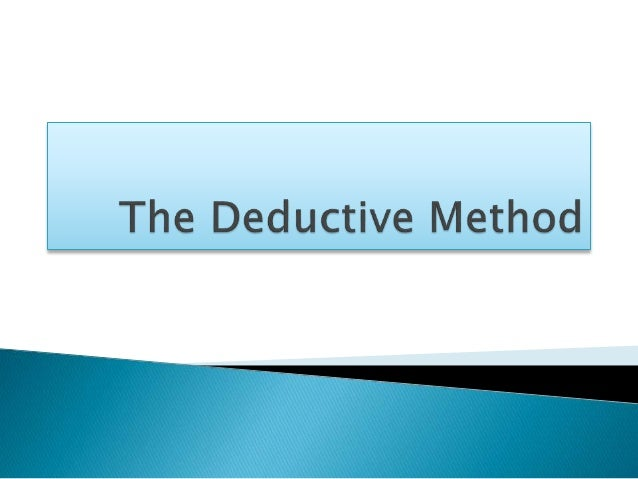 deductive method lesson plan Grammar lesson will be presented and explanation of the teaching approach will   a deductive and an inductive approach basically differentiate in lesson  procedures,  beneficial for learners to share their ideas with each other and  makes.