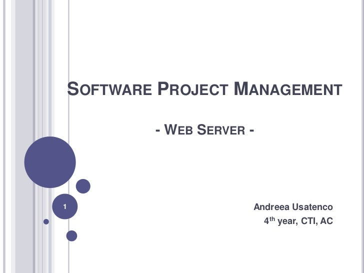 software project management ppt, Presentation templates