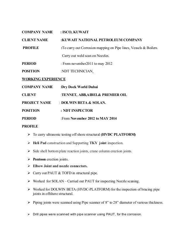 Kader Ndt Resume