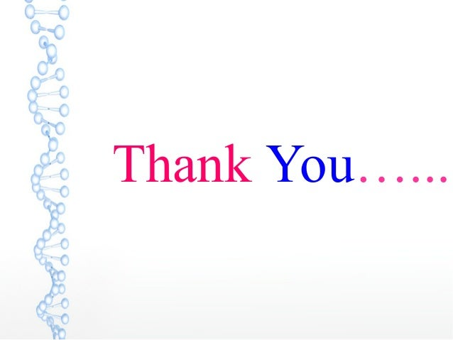 Thank You…...