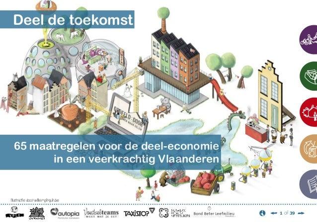 Deel de toekomst  65 maatregelen voor de deel-economie in een veerkrachtig Vlaanderen  illustratie door willempirquin.be 1...