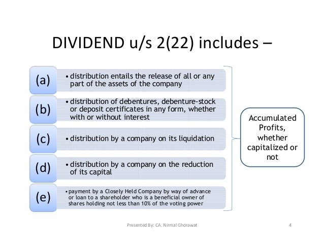 "deemed dividend If the corporation redeems your shares the redemption will result in a ""deemed  dividend"" a deemed dividend is determined by deducting the."