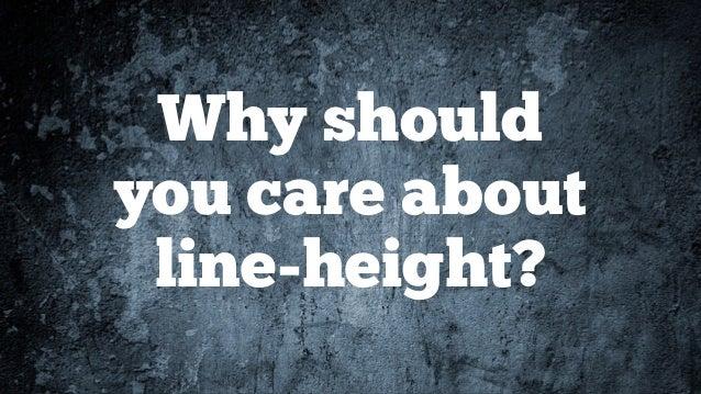 Deep Dive into Line-Height Slide 2