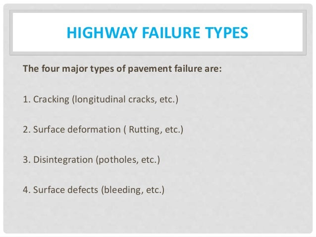 types of highways