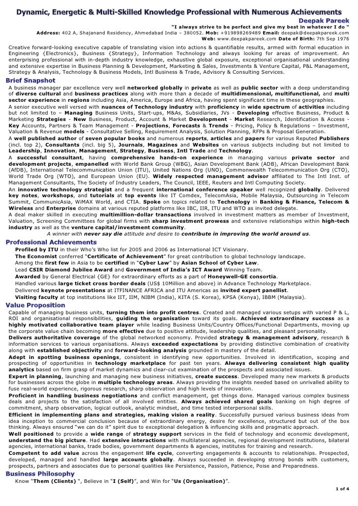 Dynamic, Energetic & Multi-Skilled Knowledge Professional with Numerous      Achievements, Capable of Taking Organisations...