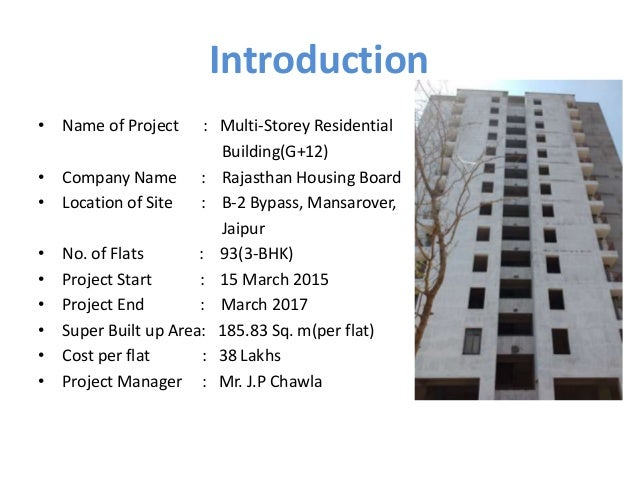 Residential Building Construction Ppt