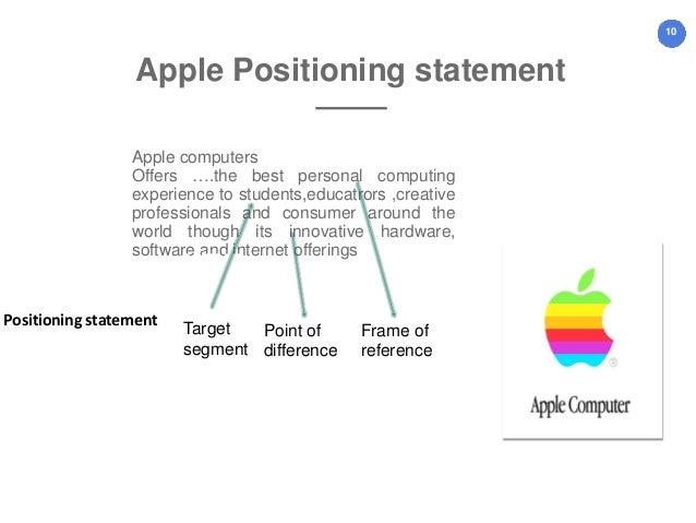 target positioning statement