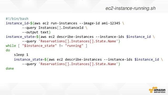 Deep Dive: AWS Command Line Interface