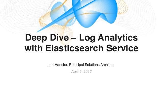 Deep Dive on Log Analytics with Elasticsearch Service
