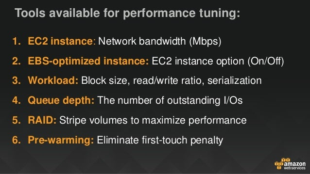 Deep Dive: Maximizing EC2 and EBS Performance