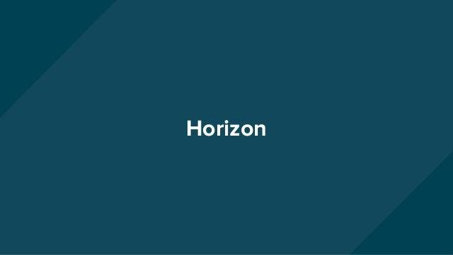 Service: ★ httpd/OpenStack- Dashboard ○ Django web app ○ Uses services APIs Horizon Browser Horizon Cinder API Neutron API...