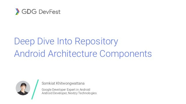 Deep Dive Into Repository - Android Architecture Components