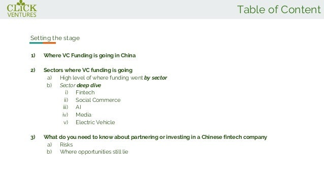 Deep Dive into VC Funding in China- Click Ventures Slide 2