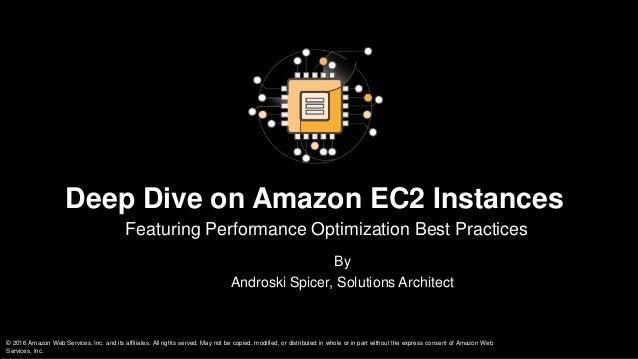 Deep Dive on Amazon EC2 slideshare - 웹