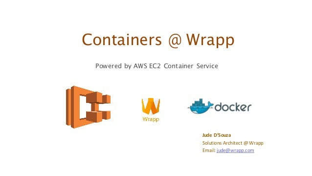 Microservices and amazon ecs for Aws ecs consul