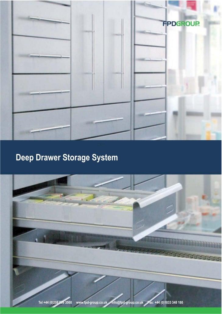 FPD Deep Pharmacy Drawer Modules